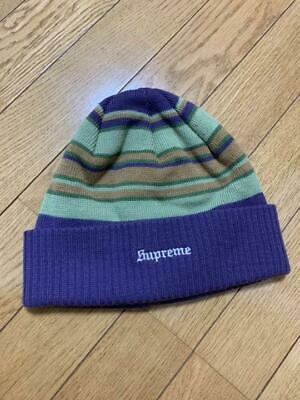 $ CDN154.17 • Buy Supreme Authentic Knit Hat Beanie Hand Wash Cold 100% Acrylic Purple Color