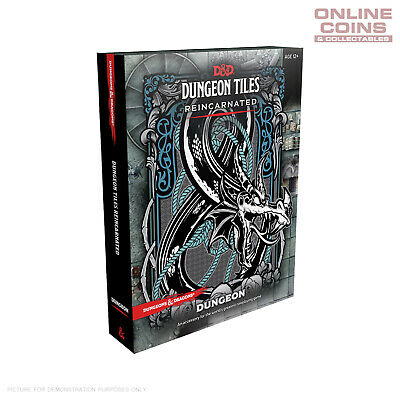 AU34.95 • Buy Dungeons And Dragons Dungeon Tiles Reincarnated Dungeon - Boxed