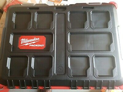 View Details New Milwaukee PACKOUT Tool Box - 48-22-8424 Empty Box, Inserts NOT Included NEW • 53.88$