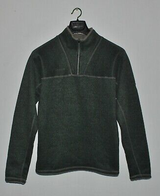 MAMMUT Mens Polartec Thermal Pro Knit Zip Pull Fleece Size S • 29.99$