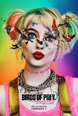 £8.99 • Buy Birds Of Prey Bb1 Harley Quinn Poster Art Print A4 A3 Size- Buy 2 Get Any 2 Free
