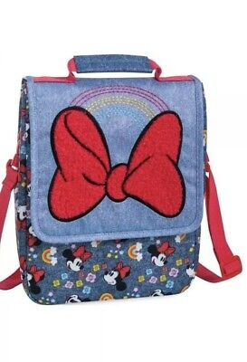 Disney Minnie Mouse Insulated Dual Lunch Bag, Muti Colors New!!! • 13.50£