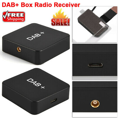 Car Digital DAB+ Audio Radio Receiver Tuner+Antenna USB Adapter For Android 5.1+ • 24.11£