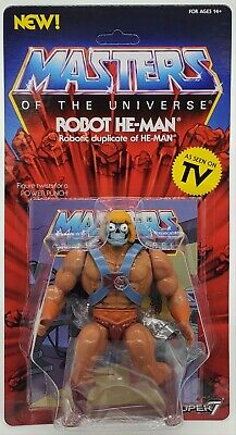 $27.99 • Buy Masters Of The Universe 5.5  Robot He- Man Action Figure  Motu Super 7 He Man