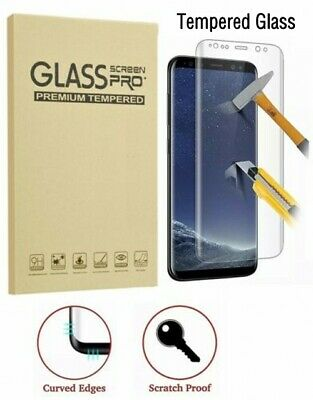 $ CDN4.41 • Buy 2-Pack Full Cover Tempered Glass Protector F Samsung Galaxy S8 S9 Plus Note 8 S7