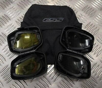 £18.99 • Buy Genuine Army Issue ESS V12 Advancer Replacement Lens & Case For Tactical Goggles
