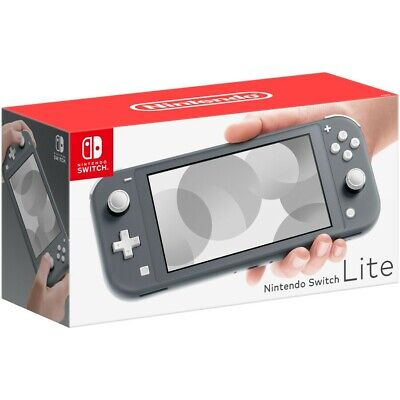 AU299 • Buy Nintendo Switch Lite - Grey Brand New Handheld Game Console