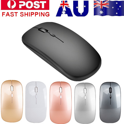 AU18.69 • Buy Mini Wireless Bluetooth 4.0 Optical Mouse For Laptop Computer PC Macbook Air Pro