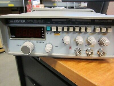 GW Instek Gfg-8020h Function Generator With 4 Digits LED Display 0.2hz To 2mhz • 183.96$