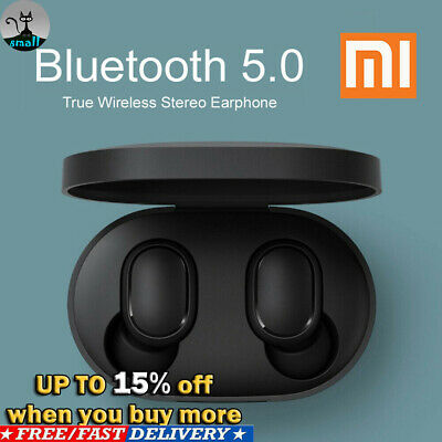 Bluetooth 5.0 Xiaomi Redmi AirDots Wireless TWS Earphone Active Earbuds Headsets • 13.99$