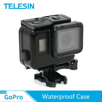 $ CDN19.27 • Buy TELESIN Waterproof Case + Touched LCD Screen Backdoor Cover For GoPro Hero 7 6 5