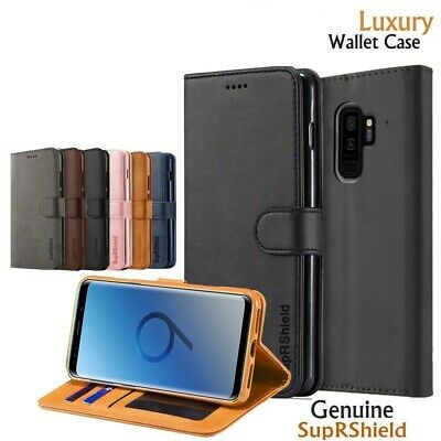 AU7.99 • Buy For Samsung Galaxy S9 S8 S10 S20 Plus S10e Magnet Wallet Leather Case Flip Cover