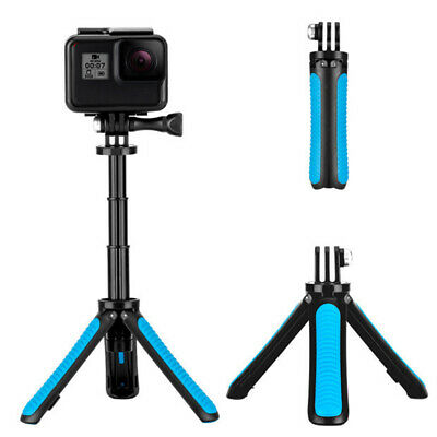 AU14.91 • Buy TELESIN Hand Grip Tripod 2 In 1 Extendable Selfie Stick For Gopro 9 Osmo Action