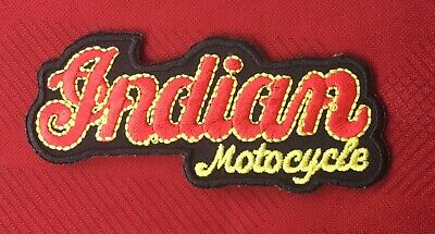 Classic Indian Vintage American Motorcycle Bike Biker  Badge Iron Sew On Patch 1 • 2.99£