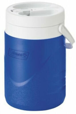 $25.99 • Buy 1 Gallon Beverage Cooler Water Drink Jug Ice Cold Camping Portable Thermos Blue