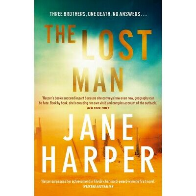 AU10 • Buy The Lost Man Book By Jane Harper