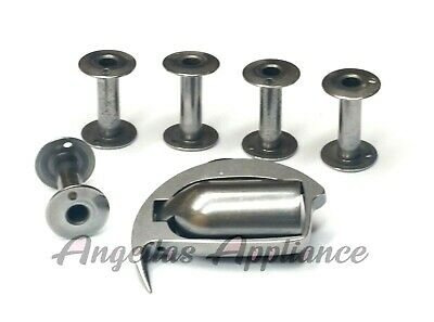 Bobbins & Shuttle Hook Assembly Closed Frame ADLER Seiko Necchi Machines • 41.95$