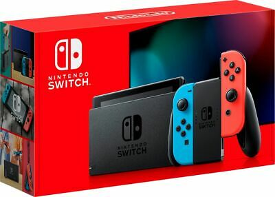 $ CDN399.99 • Buy NEW Nintendo Switch 32GB Console Red/Blue Joy Cons New Model Ships Free Anywhere