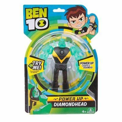 Ben 10 Deluxe Power Up Figures - Diamondhead Toy • 12.99£