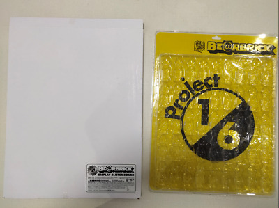 $100 • Buy 100% Bearbrick Display Blister Board Yellow Limited