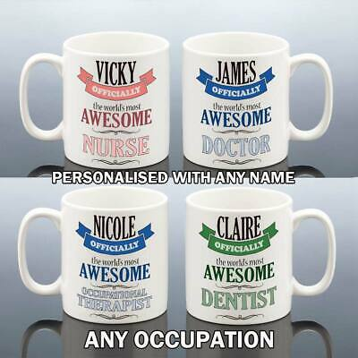 NURSE DOCTOR MIDWIFE DENTIST MUG Christmas Gift Him Her Cup Work Birthday NHS • 7.99£