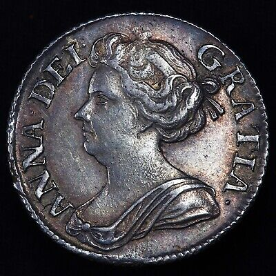 £275 • Buy Queen Anne. Sixpence, 1711.