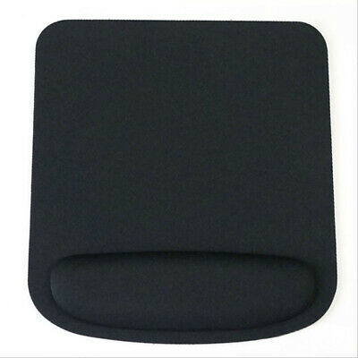 £4.50 • Buy Square Black Mouse Mat With Wrist Rest Support
