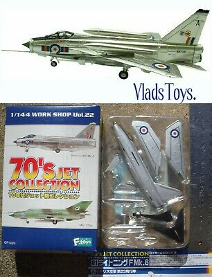 AU26.15 • Buy F-Toys 1:144 70's Jet Collection #1A Lightning F Mk.6 (Royal Airforce)