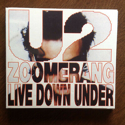 U2 - Zoomerang Live Down Under - 2 CD - Very Good To Near Mint • 50$