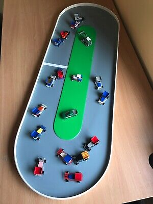 Large Tarmac - Toy Car Race Track Stock Car Brisca Banger Oval Speedway Nascar • 39.99£