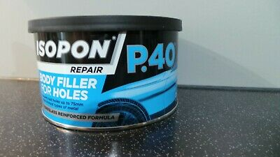 David's Isopon P40 U-pol Fibre Glass Car Body Filler Compound/repair 250ml • 8.95£