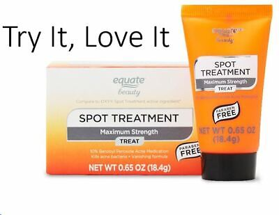 £3.50 • Buy Equate Spot Treatment Emergency Blemish Relief Oxy Proactive Benzoyl Peroxide