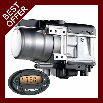 £549.04 • Buy Webasto Thermo Top EVO 5 Diesel 12v With Mounting Kit & OVAL 7day Timer 1533