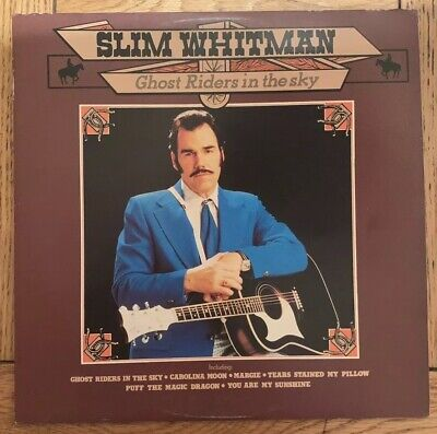 Slim Whitman- Ghost Riders In The Sky- Vinyl Record • 1.99£