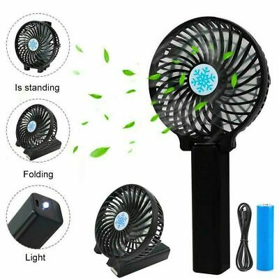 AU8.86 • Buy Mini Portable Fan Cool Air Hand Held Cooler Usb Rechargeable Electric Fans