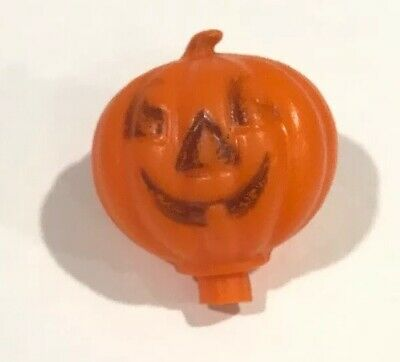 $ CDN13.53 • Buy Vintage Halloween Plastic Blow Mold Candy Container Jack O Lantern Pumpkin Head