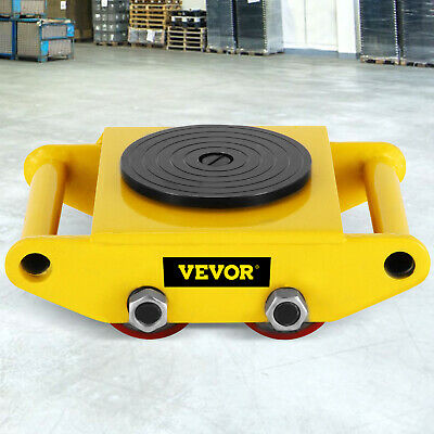 $54.36 • Buy 6 Ton Machinery Mover Machine Dolly Skate Machinery Roller Mover Cargo Trolley