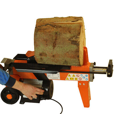FOREST MASTER 5 Ton Electric Log Splitter FM8 With Guard Max Log Length 370 Mm • 297.27£