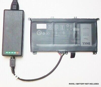 £52.98 • Buy External Laptop Battery Charger For Dell Inspiron 15 7559 7566 7567 7759, 357F9