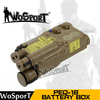 £11.39 • Buy Tactical PEQ-16 Battery Case Box Airsoft Tactical Paintball Hunting Equipment