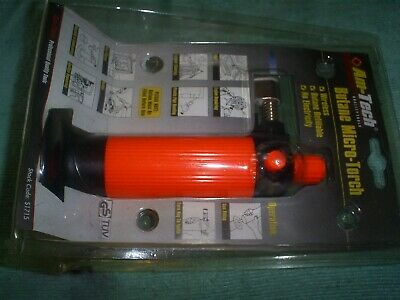 Butane Gas Micro Torch For Hobbies Cooking Uk Seller • 5£