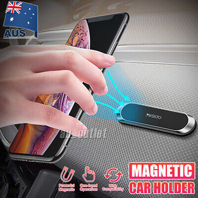 AU7.45 • Buy In Car Magnetic Phone Holder Dashboard Mount Stand Bracket For Mobile Phone GPS