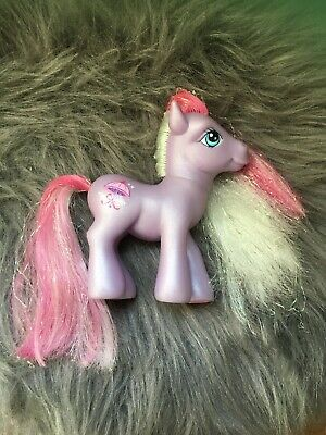 My Little Pony G3 PRETTY PARASOL (Crystal Princess Carriage Pony) 2006 • 4.81£