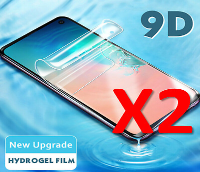 $ CDN5.07 • Buy 2 PACK For Samsung Galaxy S9,S8,S7 3D Hydrogel Protective Film Screen-Protector