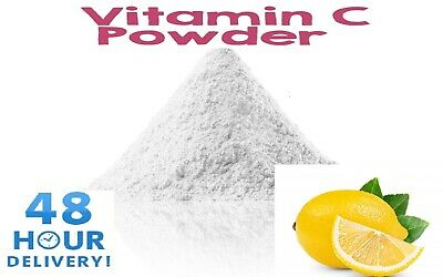 Vitamin C E300 L Ascorbic Acid Non GMO 100% Purest Pharma Grade Free UK Delivery • 3.73£