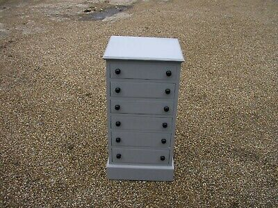 Painted Chest Of Drawers,collectors Chest,bedside Chest, Vintage. • 129£