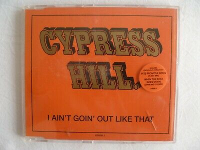 £2.99 • Buy Cypress Hill  I Aint Goin Out Like That  UK CD Single (1993) 659690 2 Diamond D