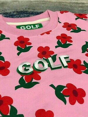 $58.32 • Buy Golf Wang  Find Some Time  PINK Sweatshirt Crewneck [SIZE S M L XL]