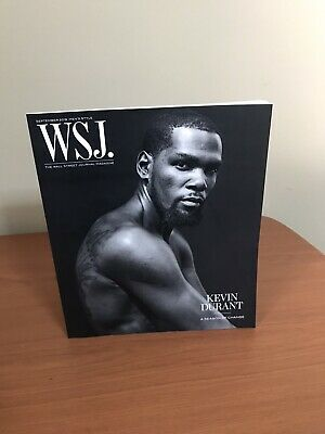 $3.24 • Buy The Wall Street Journal Magazine: Sept. 2019 Kevin Durant Excellent Condition