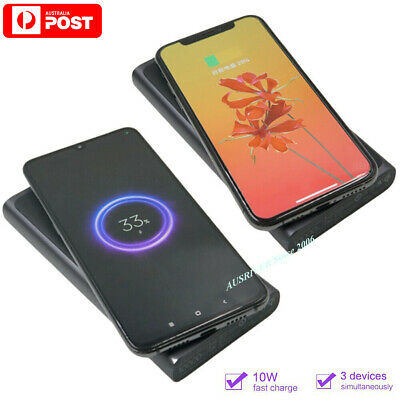 AU59.99 • Buy Xiaomi Wireless Power Bank PLM11ZM 10000mAh  Fast Quick Charger Battery IPhone